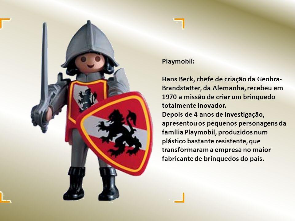 Playmobil: Hans Beck, chefe de criação da Geobra- Brandstatter, da Alemanha, recebeu em 1970 a missão de criar um brinquedo totalmente inovador.