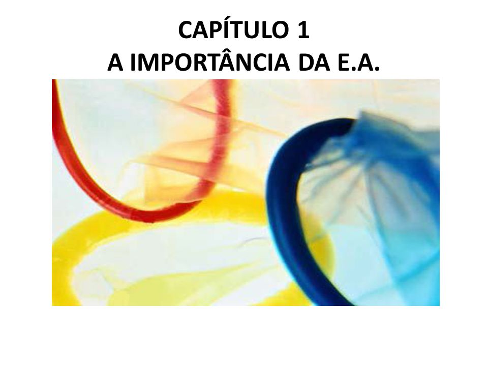 A IMPORTÂNCIA DA E.A.