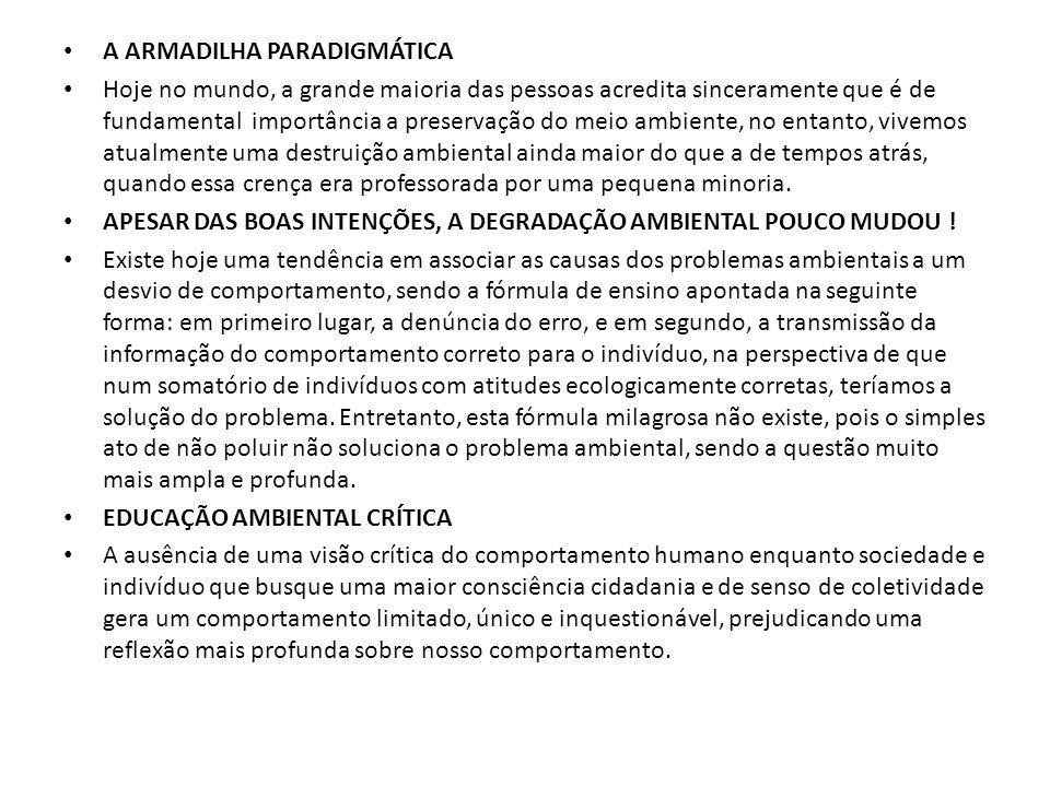 CAPÍTULO 4 ASPECTOS SÓCIO ECONÔMICOS DA E.A.
