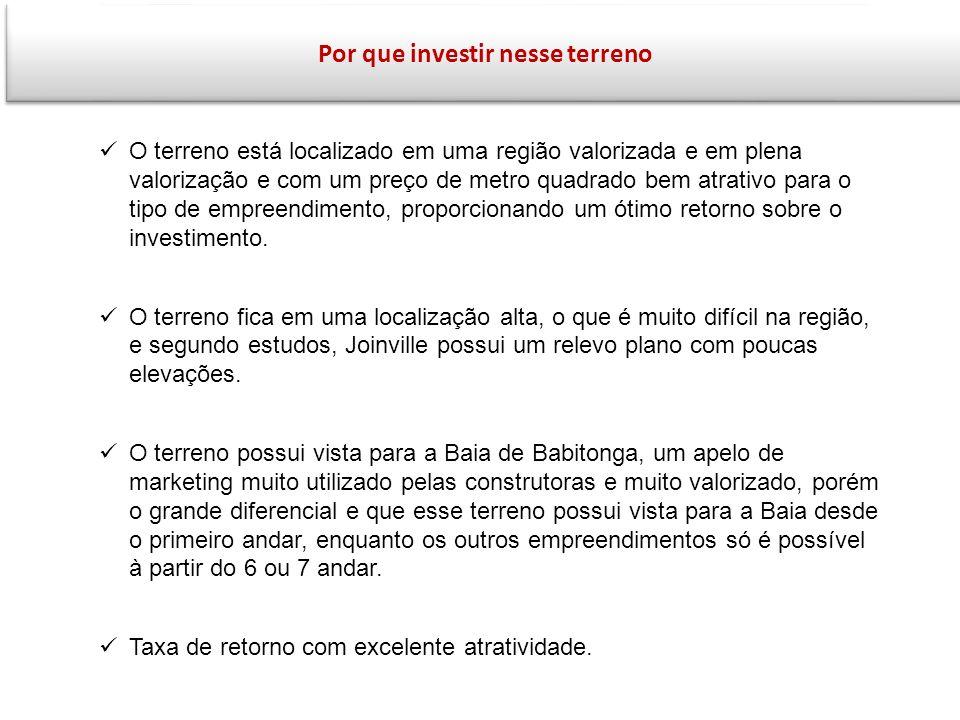 16 Análise e Conclusão O mercado de Joinville vem absorvendo bem a demanda de novos lançamentos.