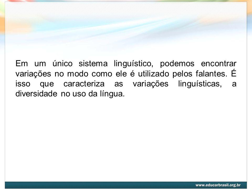 O uso da língua é uma das formas de expressão que as pessoas utilizam para estabelecer a comunicação com o outro: informar, entreter, convencer, divulgar, descrever, etc.