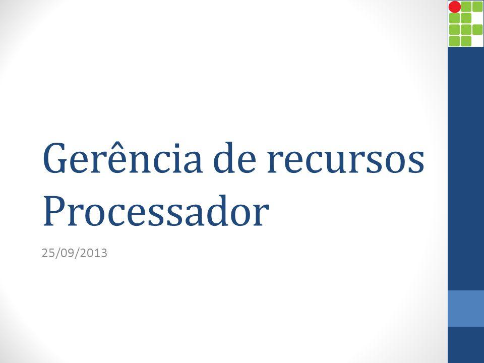 Introdução Muitos processos concorrentes demandam gerenciamento do uso do processador; Quando muitos processos estão em estado de pronto, deve existir critérios para escalona-los; Esses critérios compreendem a política de escalonamento.
