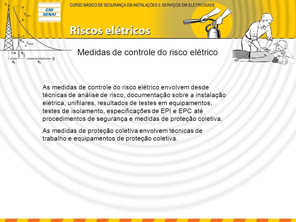 Análise de riscos RISCO – Capacidade de uma grandeza com potencial para causar lesões ou danos à saúde das pessoas.
