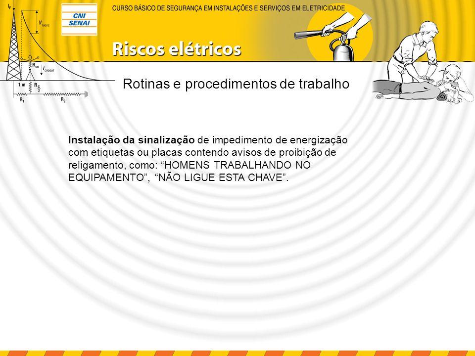 Instalação e serviços em eletricidade Sinalização