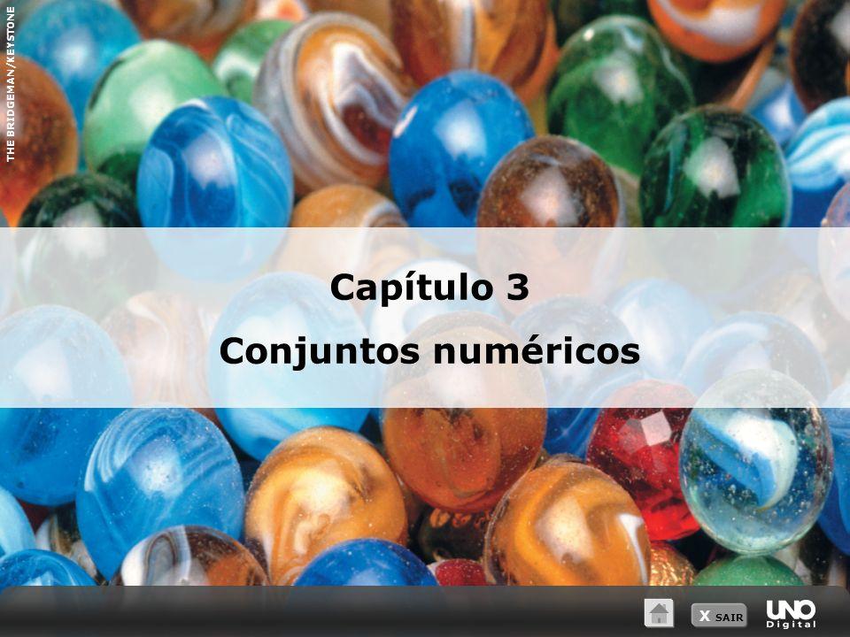 X SAIR Conjunto dos números naturais N = {0, 1, 2, 3,...} N * = {1, 2, 3,...} 3 Conjuntos numéricos Medida unitária