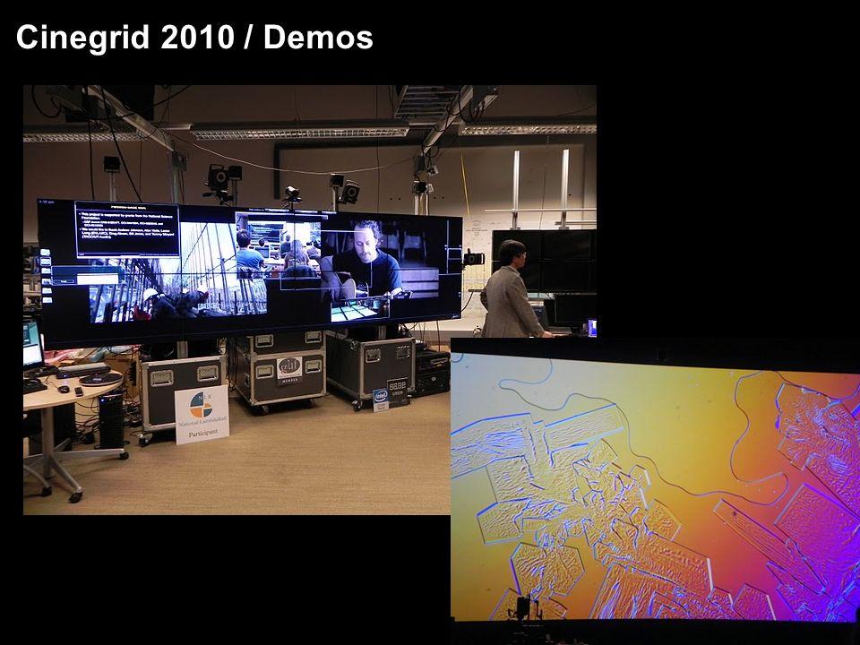 Transmissão de video 4K3D Projeto 2014K - www.2014k.org