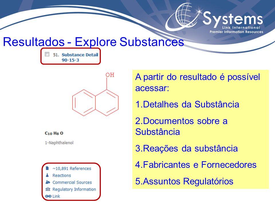 Detalhes da substância como nomes, fórmulas, propriedades experimentais e estimadas, etc Detalhes da Substância
