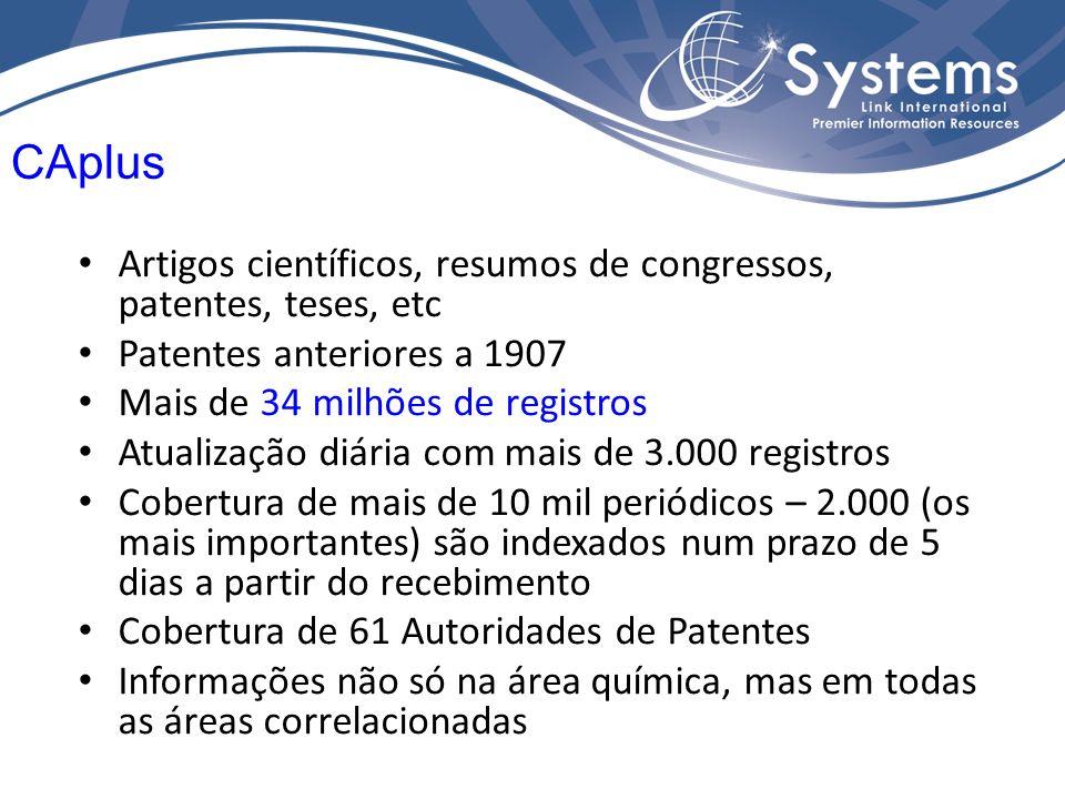 Base de dados de informações em Saúde – ciências da vida e ciências biomédicas.