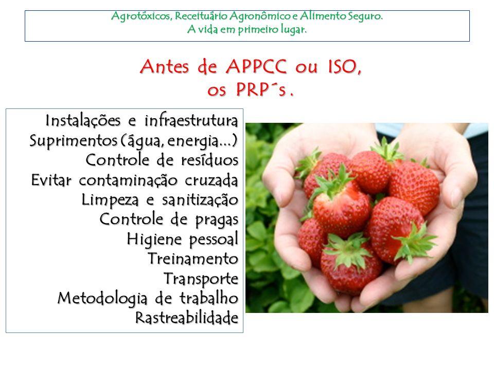 Agrotóxicos,Receituário Agronômico e Alimento Seguro.