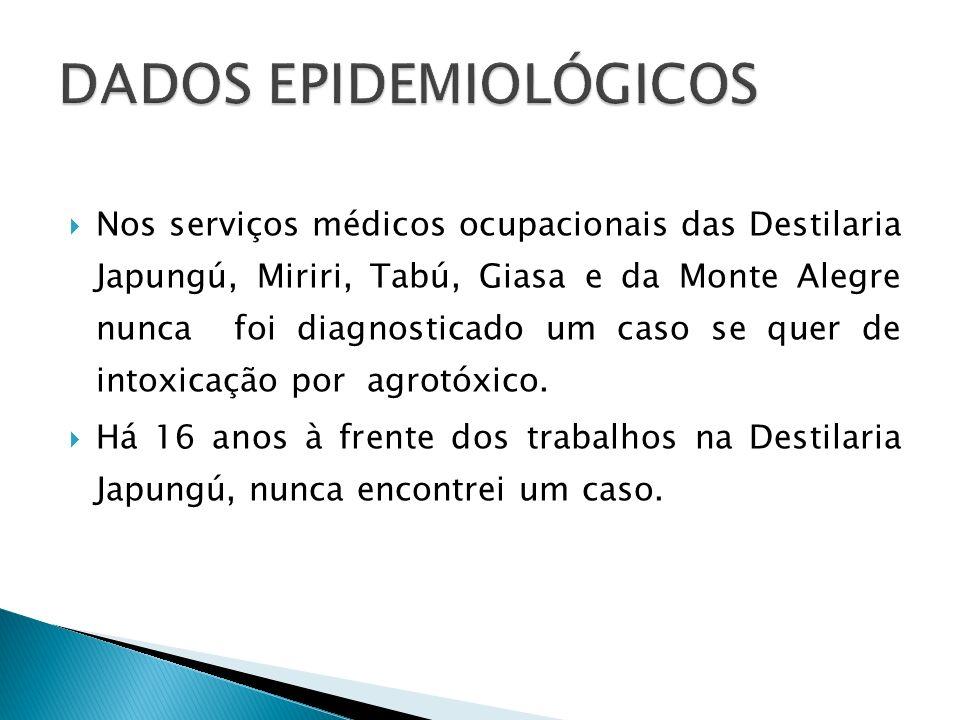 Admissional : Acetilcolinesterase Eritrocitária e Plasmática ( Exame de referência) TGO/TGP GamaGT Glicemia Ureia/Creatinina Hemograma Completo