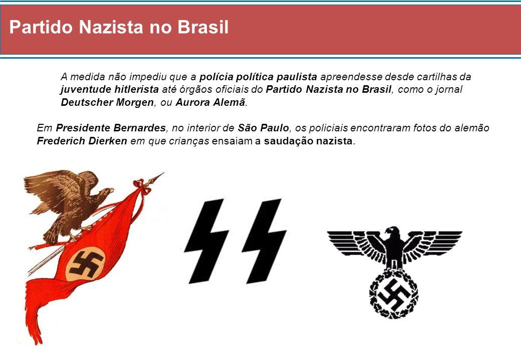 Governo Ditatorial (1937-1945) Fim do Estado Novo A Guerra contra o nazi-fascismo na Europa, foi, de certo modo aproveitada pelos Grupos Liberais brasileiros para combater o Fascismo Interno do próprio Estado Novo – A Ditadura Vargas.
