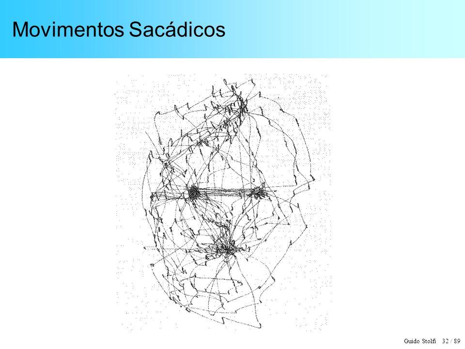 Guido Stolfi 33 / 89 Movimentos Sacádicos