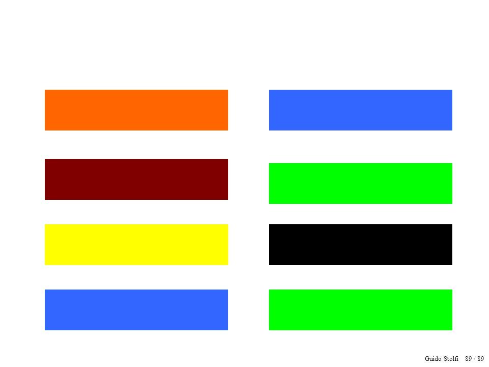 Guido Stolfi 90 / 89 Verde Vermelho Preto Branco Marrom Azul Amarelo Roxo