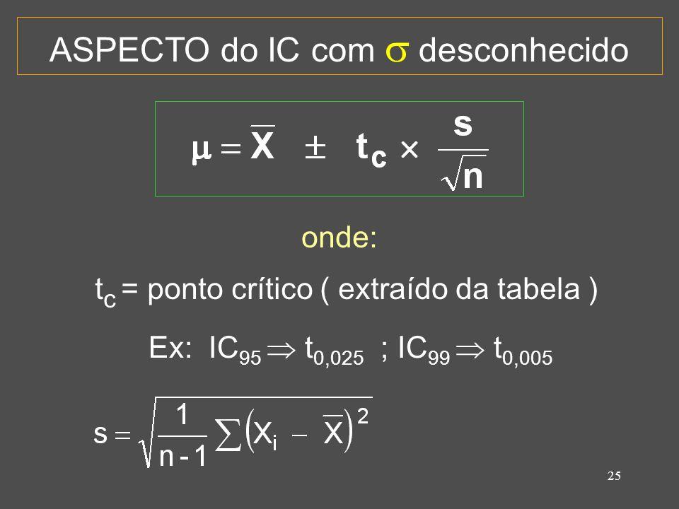 26 EXEMPLO: Extraiu-se uma amostra aleatória das notas de uma grande turma e obteve-se os seguintes valores: 58, 60, 53, 81 e 73.