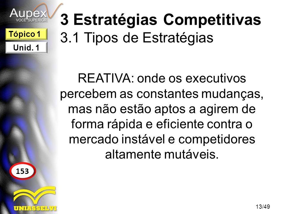 4 Modelos de Gestão Estratégica Nadler (1983) propõe um modelo básico de estratégia (Fig.