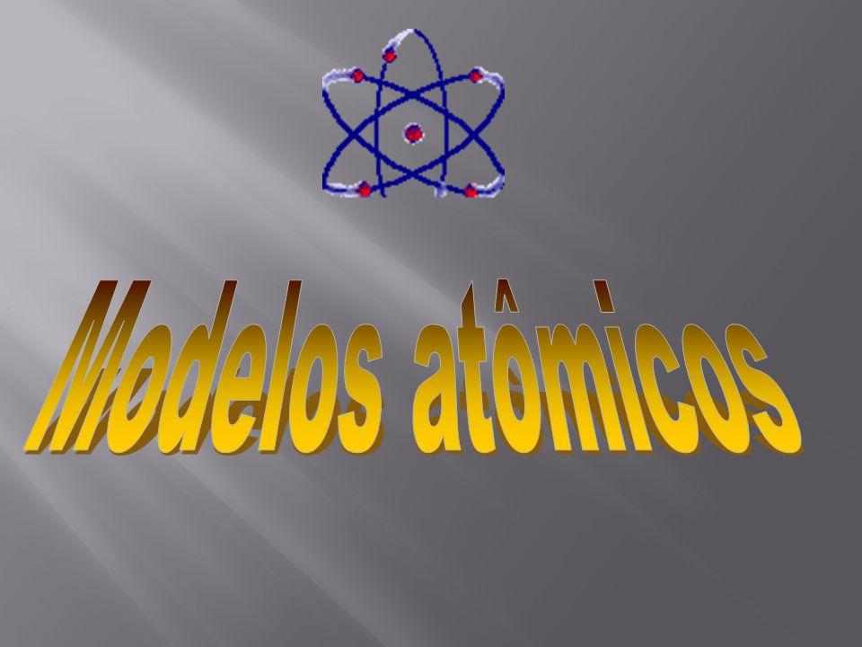 Modelos atômicos A origem da palavra átomo A palavra átomo foi utilizada pela primeira vez na Grécia antiga, por volta de 400 aC.