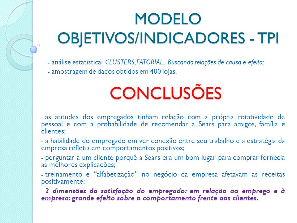 MODELO REVISADO: THE EMPLOYEE-CUSTOMER- PROFIT CHAIN