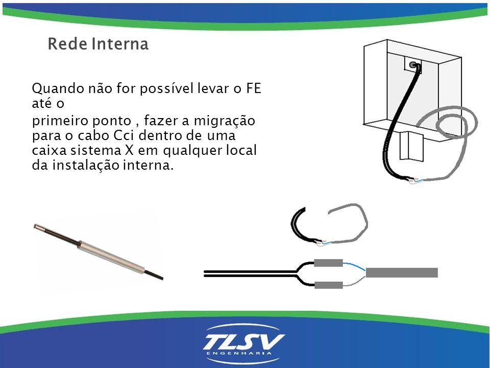 Após a chegada do cabo Cci ao roda-pé, deve-se colar o mesmo com aplicador de cola quente por todo trajeto necessário.