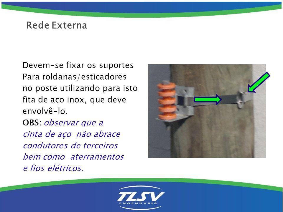 Saída de caixa: ( caixa TPF ): Instalar 2 isoladores de quatro ranhuras a 180 º somente para o lado que for usar.
