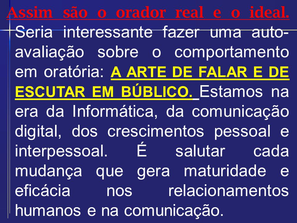 SETE CAMINHOS PARA UMA COMUNICAÇÃO EFICAZ