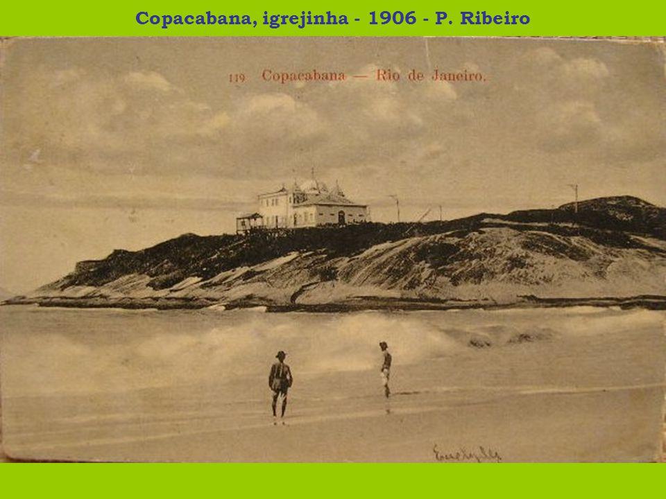 Praia de Copacabana - 1908 - Jornal O Copacabana