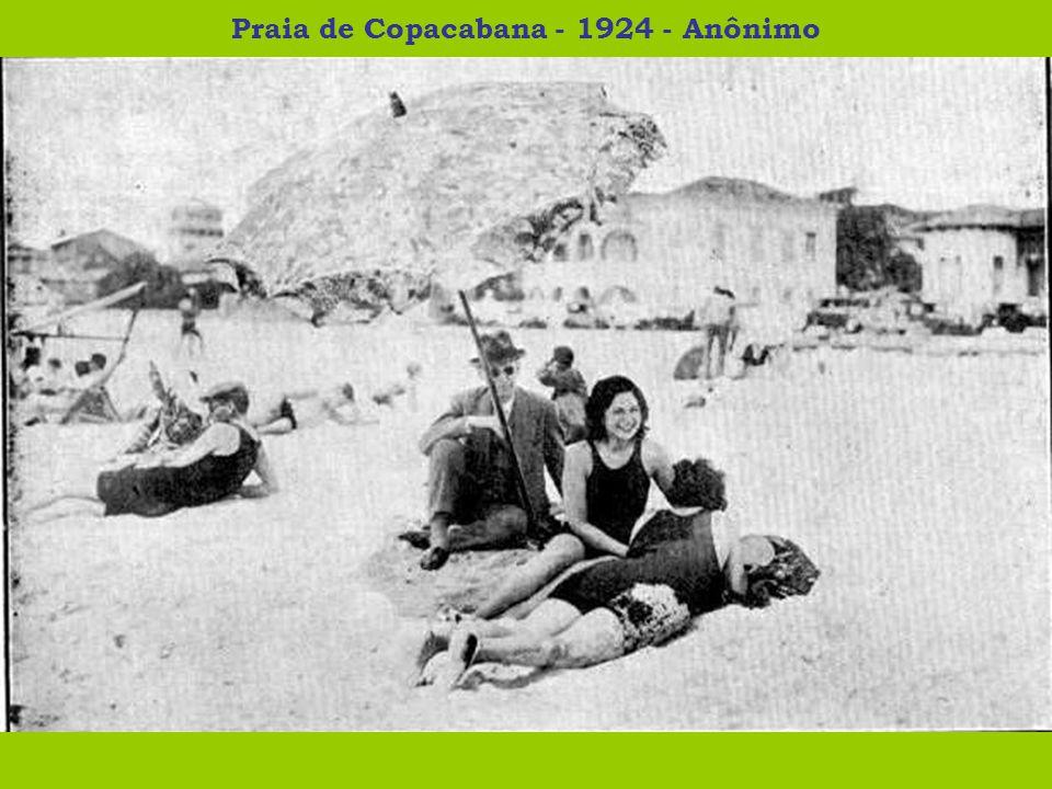 Os perigos do banho de mar - 1924 - Raul Pederneiras