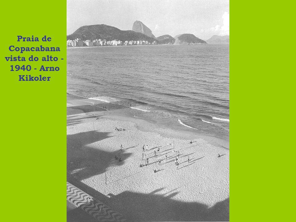 Moça no calçadão - 1940 - Arno Kikoler