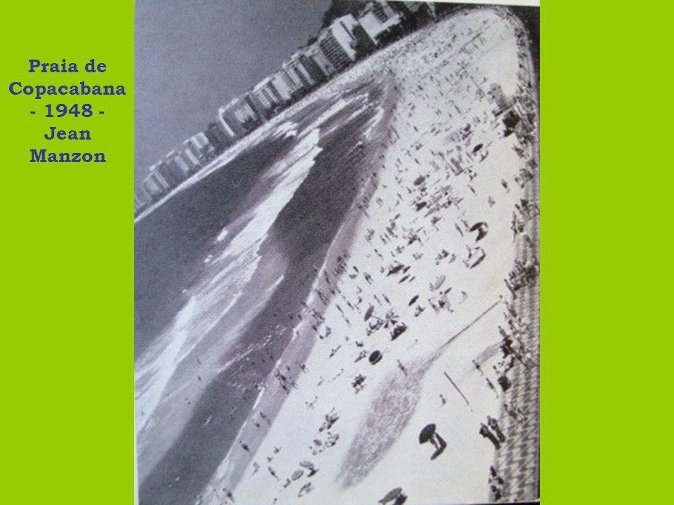 Banhistas em Copacaba na - 1948 - Jean Manzon