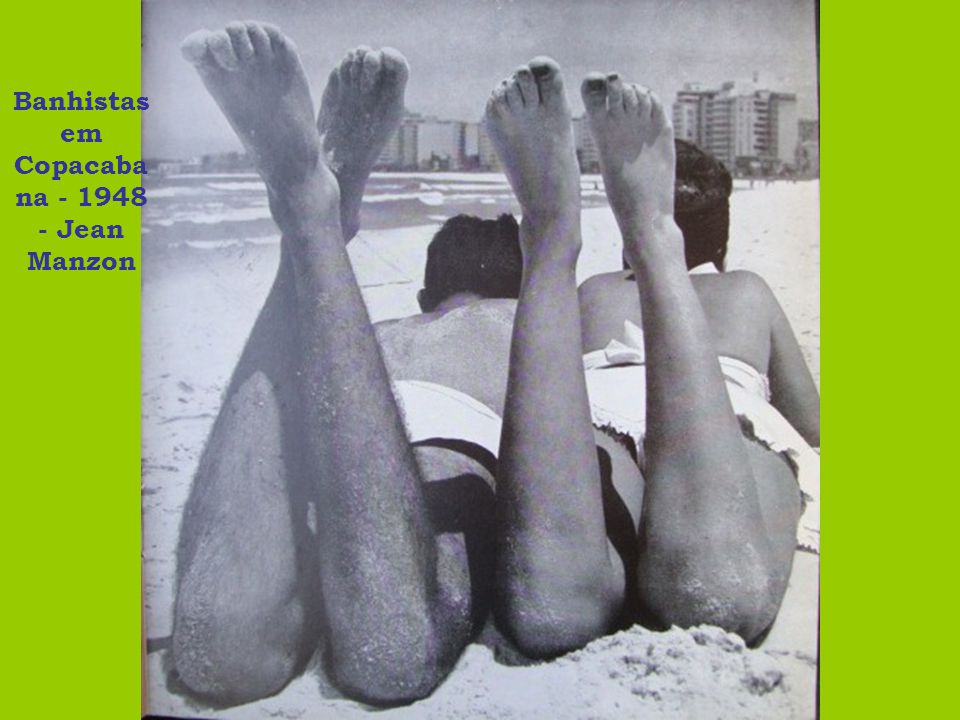 Praia de Copacabana - 1948 - Jean Manzon