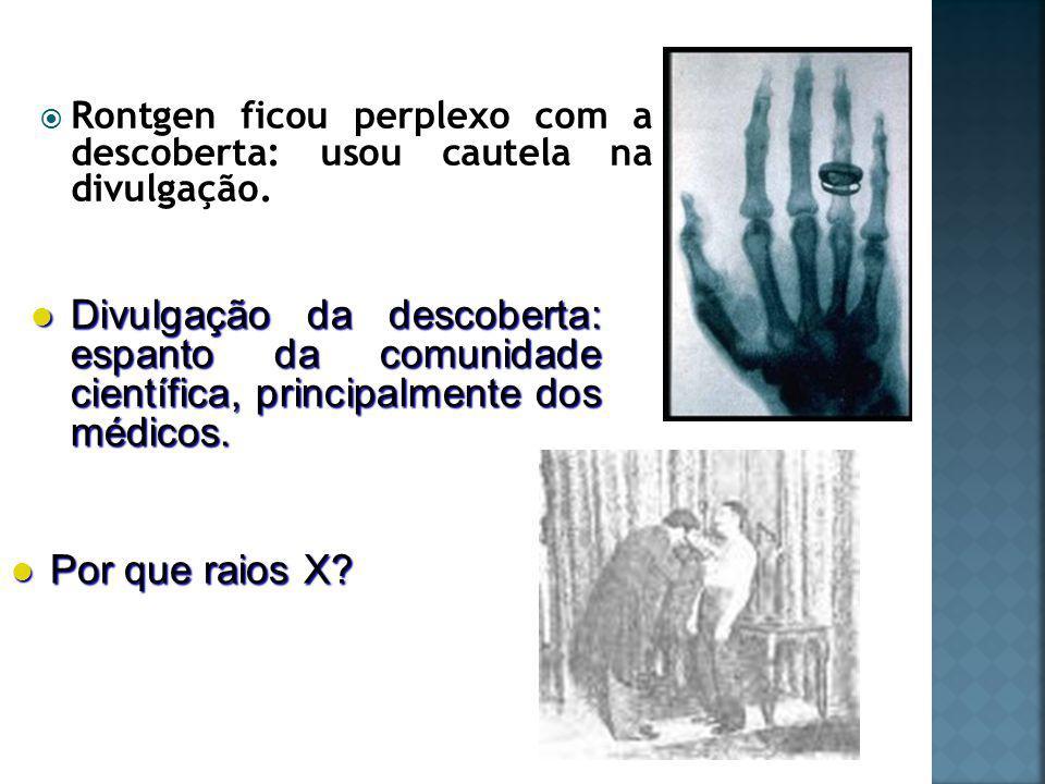 Desvendando a natureza dos raios X: radiação eletromagnética.
