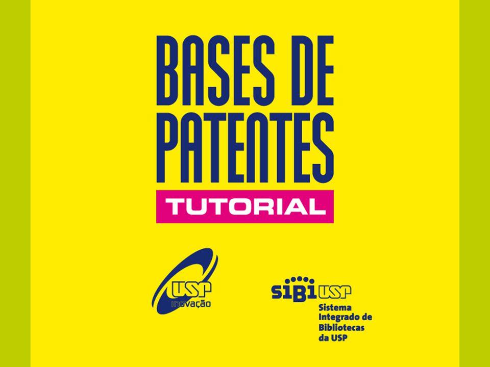 Bases disponíveis Derwent INPI USPTO EPO NCIPI Tutoriais Informações para novos usuáriosCréditosFale conosco tutorial sobre bases de patentes Menu tutorial