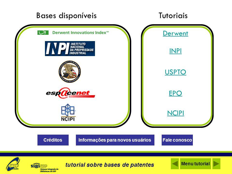 O que é.Base de dados de patentes internacionais e um índice de citações de patentes Onde.