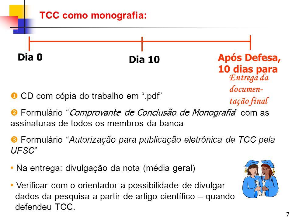 8 Coordenadoria de TCC Equipe: Prof.Roque Brinckmann – Coordenador.