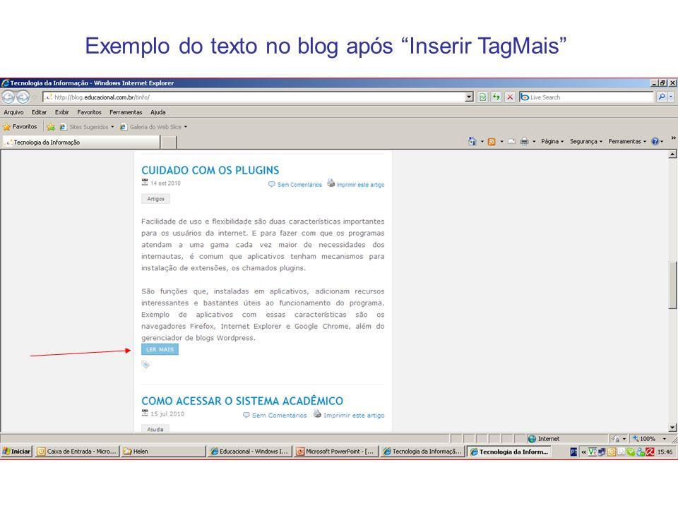 INSERIR URL VÍDEOS DO YOUTUBE