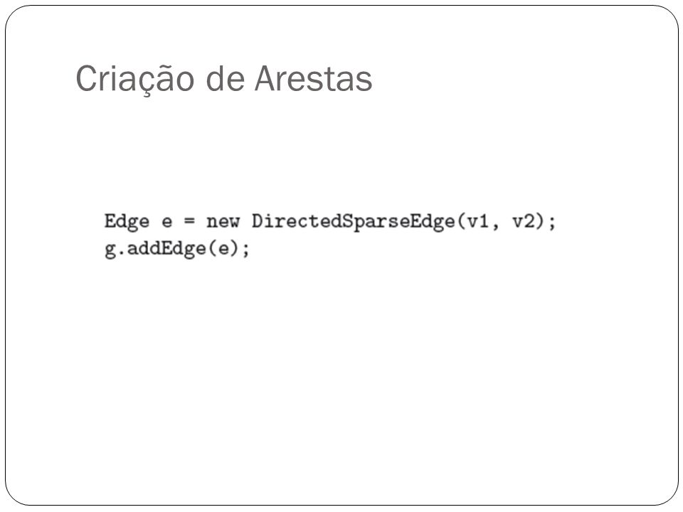 Restrições(Constraints) São restrições que podem ser aplicadas a Grafos, Vertices e Arestas. Ex.: