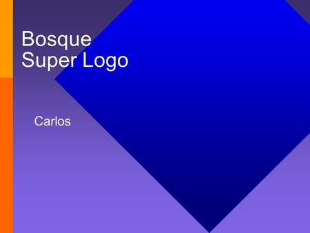 Bosque Super Logo Carlos