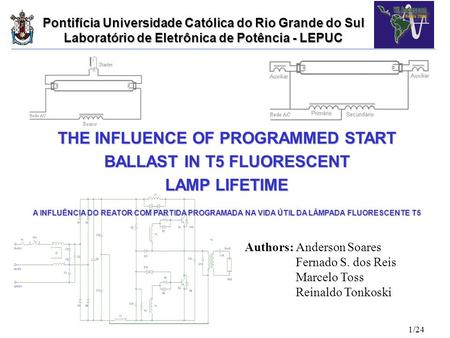 THE INFLUENCE OF PROGRAMMED START BALLAST IN T5 FLUORESCENT