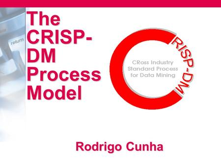 The CRISP-DM Process Model