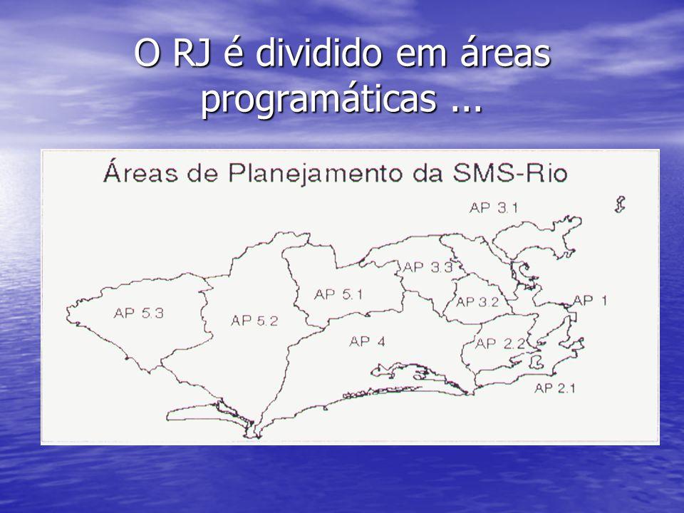A AP 3.1, 3.2 e 3.3 engloba a Ilha, Méier, Penha, Bonsucesso, Irajá etc.