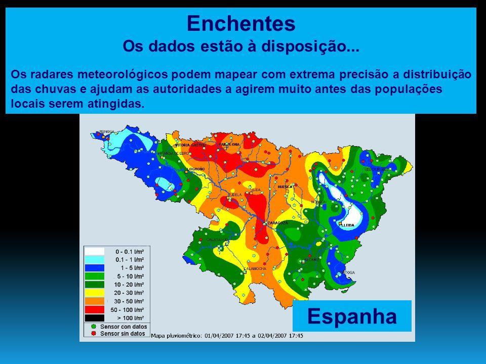 Enchentes no Brasil Caos urbano....
