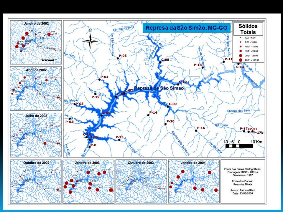 Os agroecossistemas convencionais causam um enorme aumento no aporte externo de fósforo nos ecossistemas aquáticos.