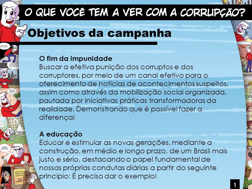 2 O QUE VOCÊ CONHECE SOBRE CORRUPÇÃO? JÁ PENSOU SOBRE ISTO?