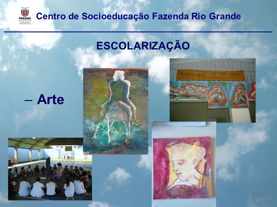 Centro de Socioeducação Fazenda Rio Grande ____________________________________________________ ESCOLARIZAÇÃO Educação Física