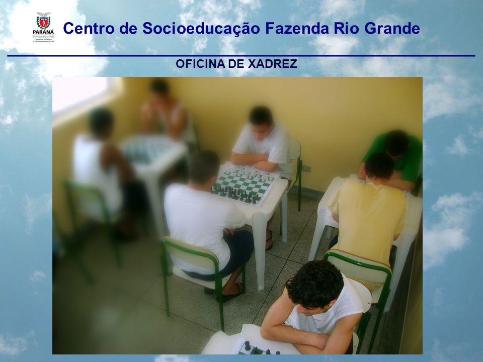 Centro de Socioeducação Fazenda Rio Grande ____________________________________________________ ATIVIDADES PEDAGÓGICAS COMPLEMENTARES Intramuros: Horta; Limpeza; Culinária; Paisagismo; Lavanderia.