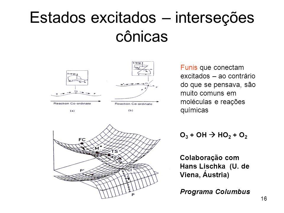 17 Em resumo Linhas de pesquisa de química teórica/ computacional no IME: estrutura eletrônica de moléculas, espectroscopia, catálise, dinâmica em fase gasosa e líquida Confuso.
