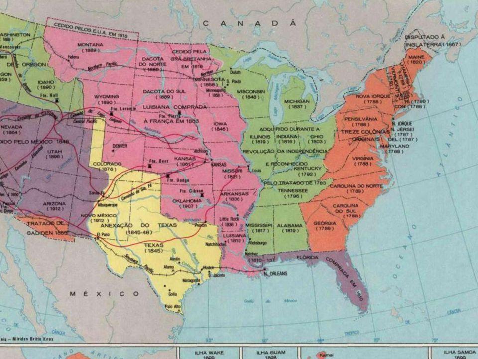 A GUERRA CIVIL NORTE- AMERICANA (1861-65) Origem: Origem: - Divergências existentes entre as ex-colônias do Norte e as ex- colônias do Sul.