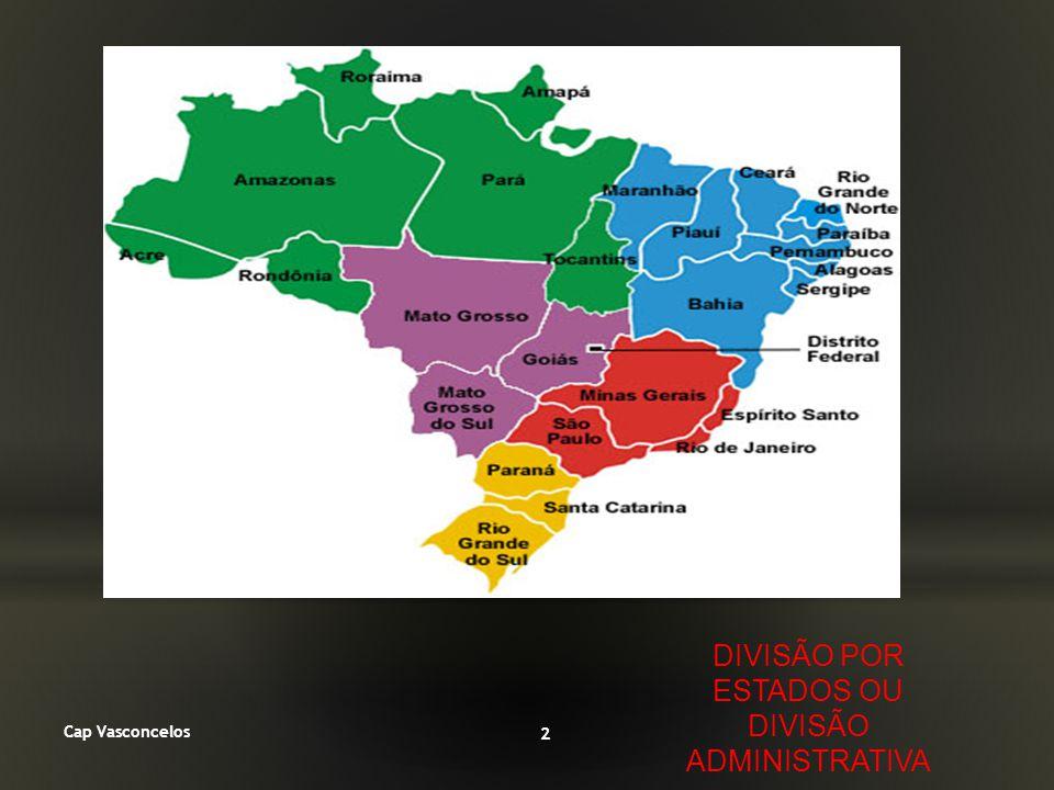 Cap Vasconcelos 3 DIVISÃO POR REGIÕES