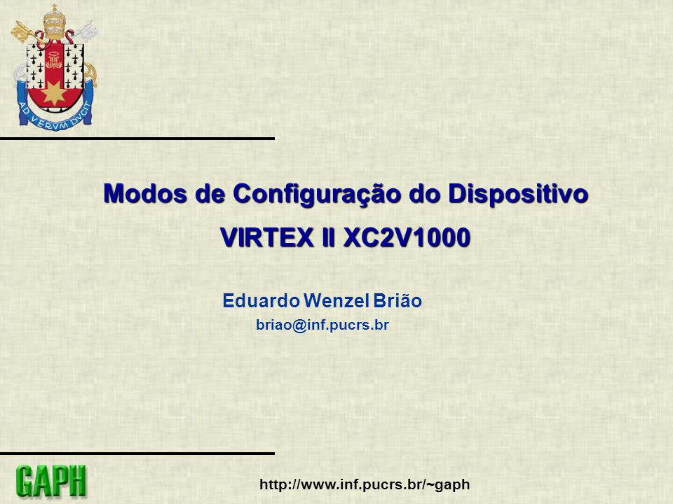 2 http://www.inf.pucrs.br/~gaph Sumário 1.Introdução 2.