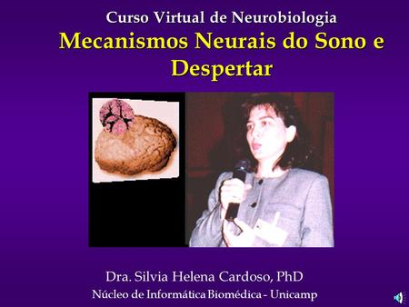 Curso Virtual de Neurobiologia Mecanismos Neurais do Sono e Despertar
