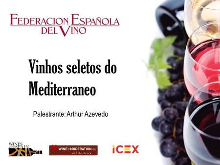 Vinhos seletos do Mediterraneo